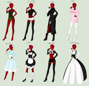 Grim Tales/Marvel-Serena's Other Clothing