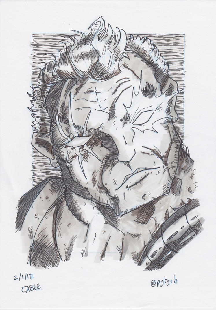 X-Men Cable by PeterHammerson