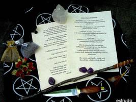 Handfasting Ritual by Estruda