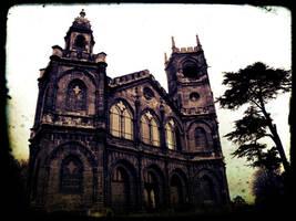 The Gothic Temple  1 by Estruda