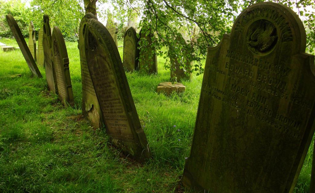 Green Tombstones by Estruda