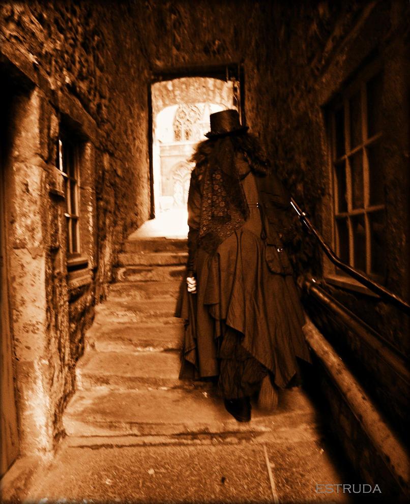 Victorian Traveller by Estruda