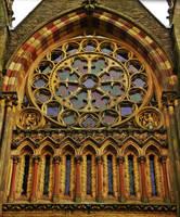 Church Window by Estruda