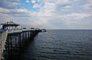 Llandudno Pier by Estruda