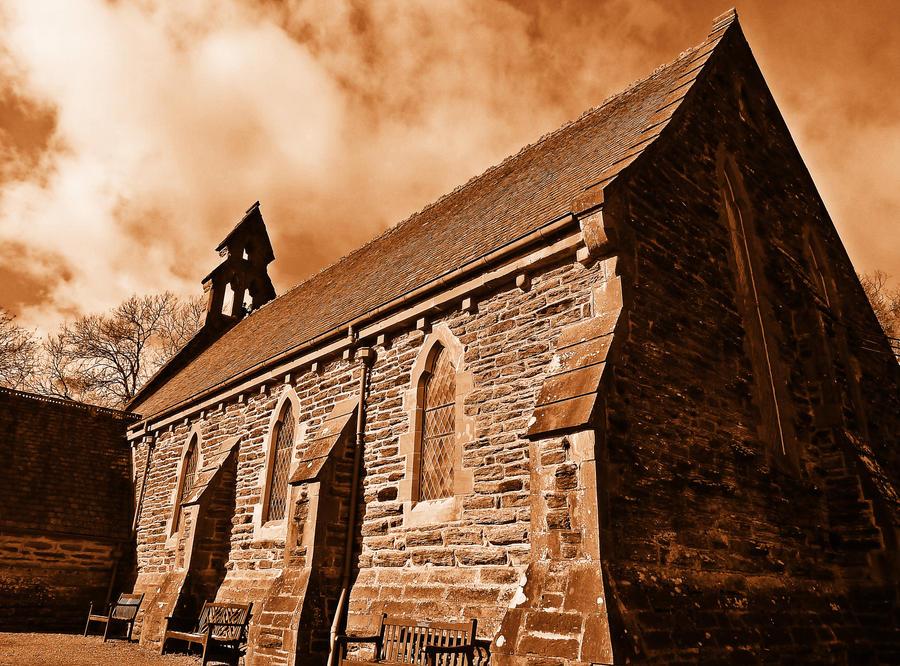 Balquiddher Church by Estruda