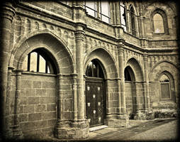 The Gothic Temple Arches by Estruda