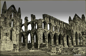 The Ruins Of Whitby Abbey 3 by Estruda
