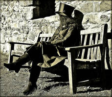 On The Bench by Estruda