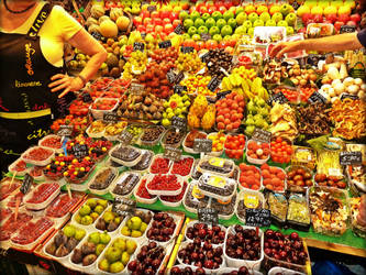 The Exotic Fruit Stall by Estruda