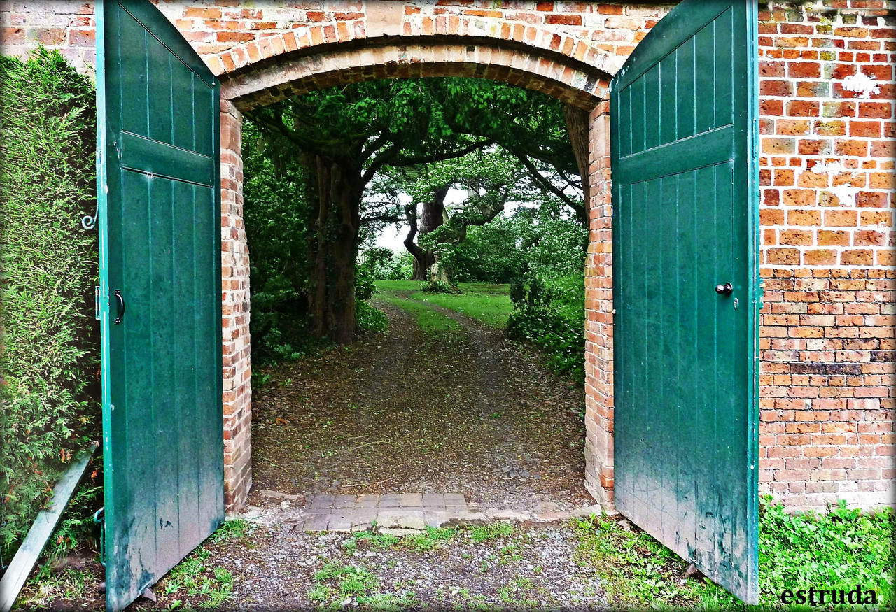 The Doors To The Secret Forest by Estruda