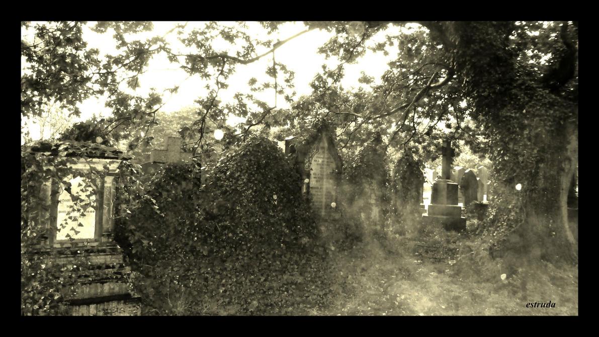 Spirits In The Graveyard by Estruda