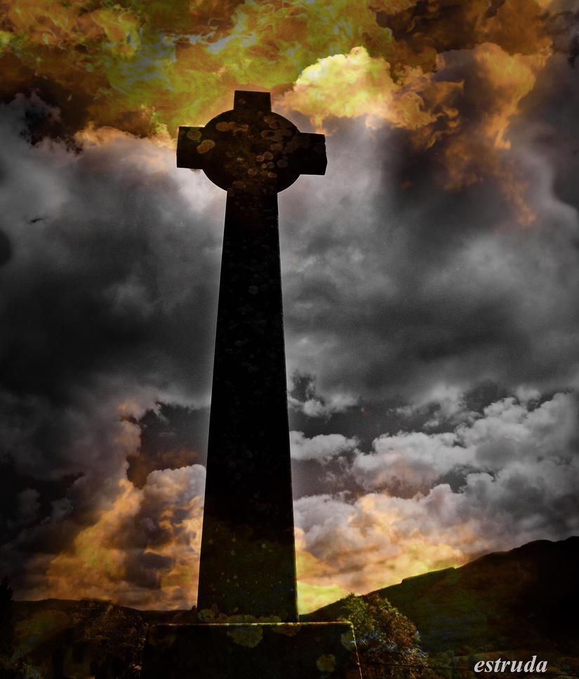 Cross Of Fire by Estruda