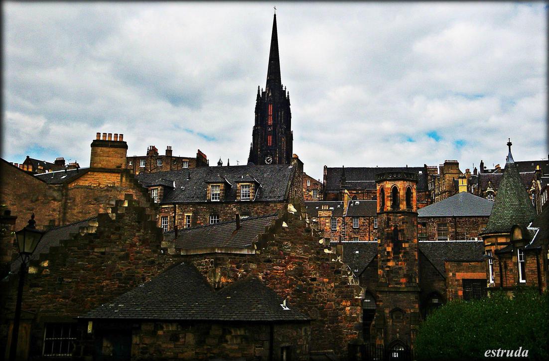 A Part Of Edinburgh by Estruda