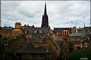 A Part Of Edinburgh by Estruda