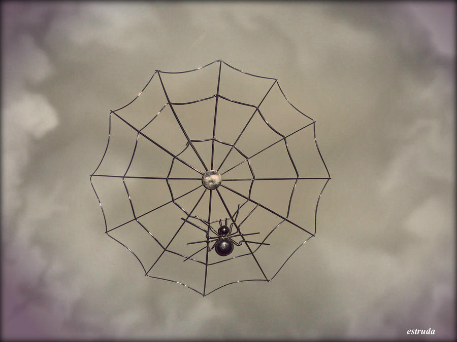 Metal spider by Estruda