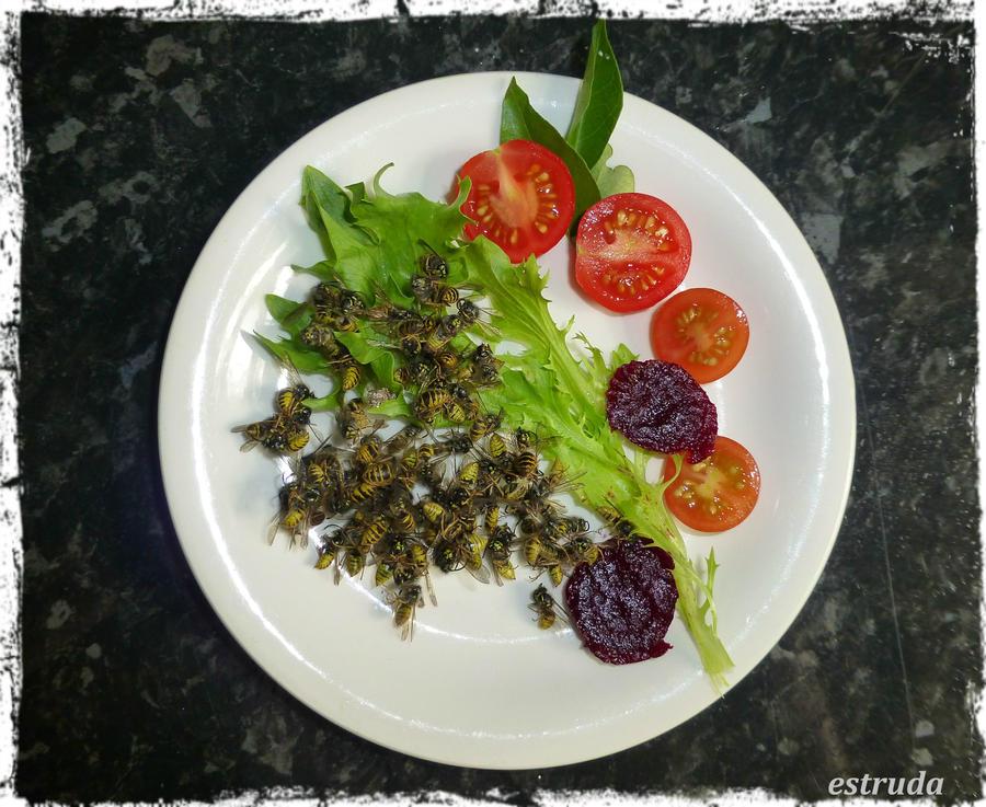 Wasp Salad by Estruda