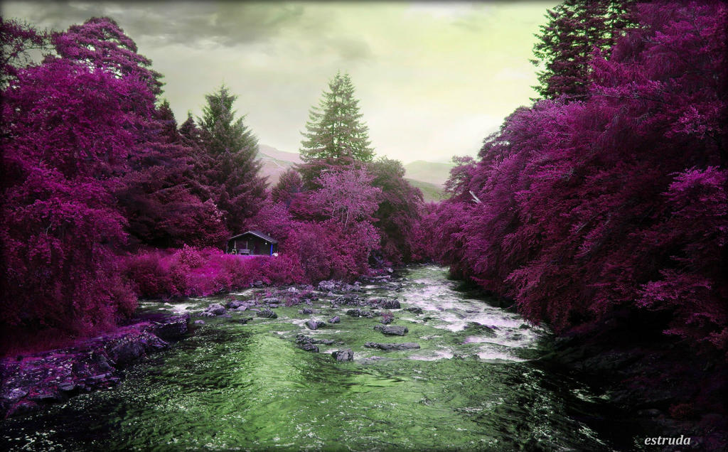 The River Flows by Estruda