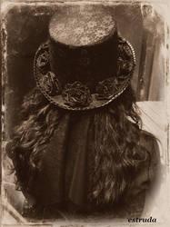 Gothic Victorian Hat by Estruda