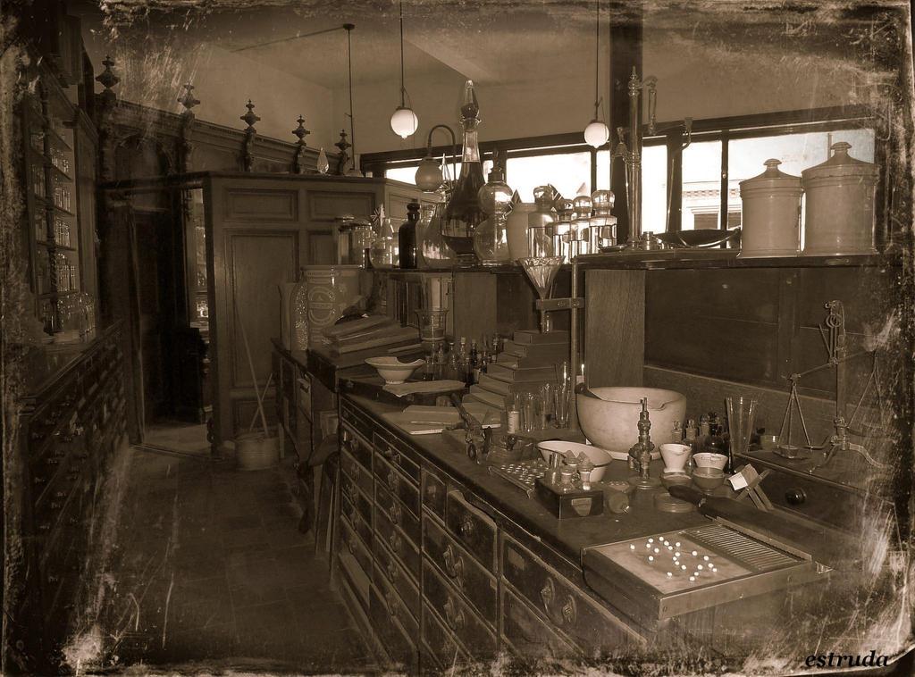 The Old Chemist Shop by Estruda