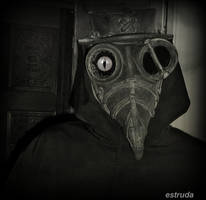 Portrait Of The Plague Doctor by Estruda