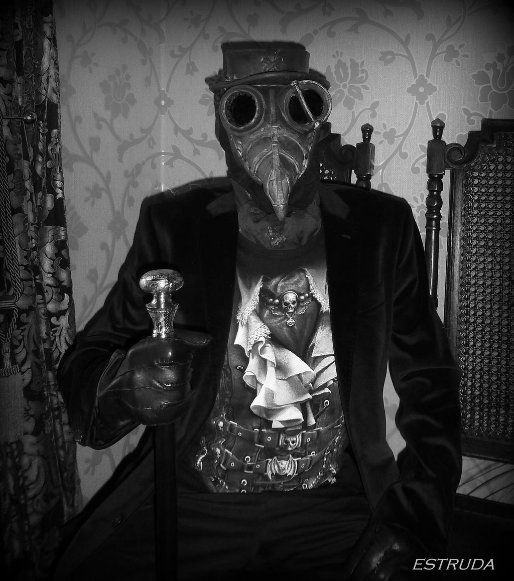 The Plague Doctor Himself by Estruda