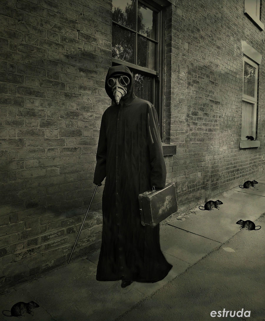 The Plague Doctor On His Way To Another Sufferer by ...