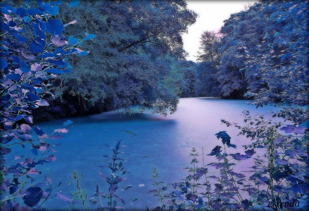 Mystical Lake by Estruda
