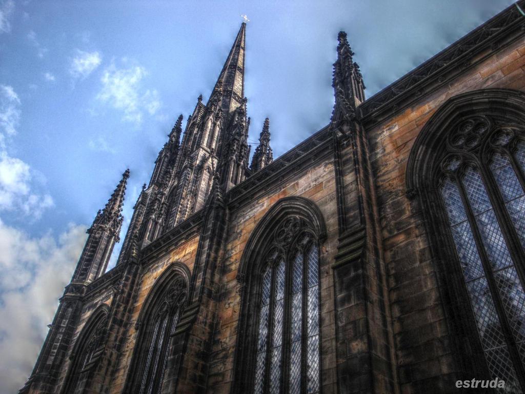 Edinburgh Street Buildings 9 by Estruda