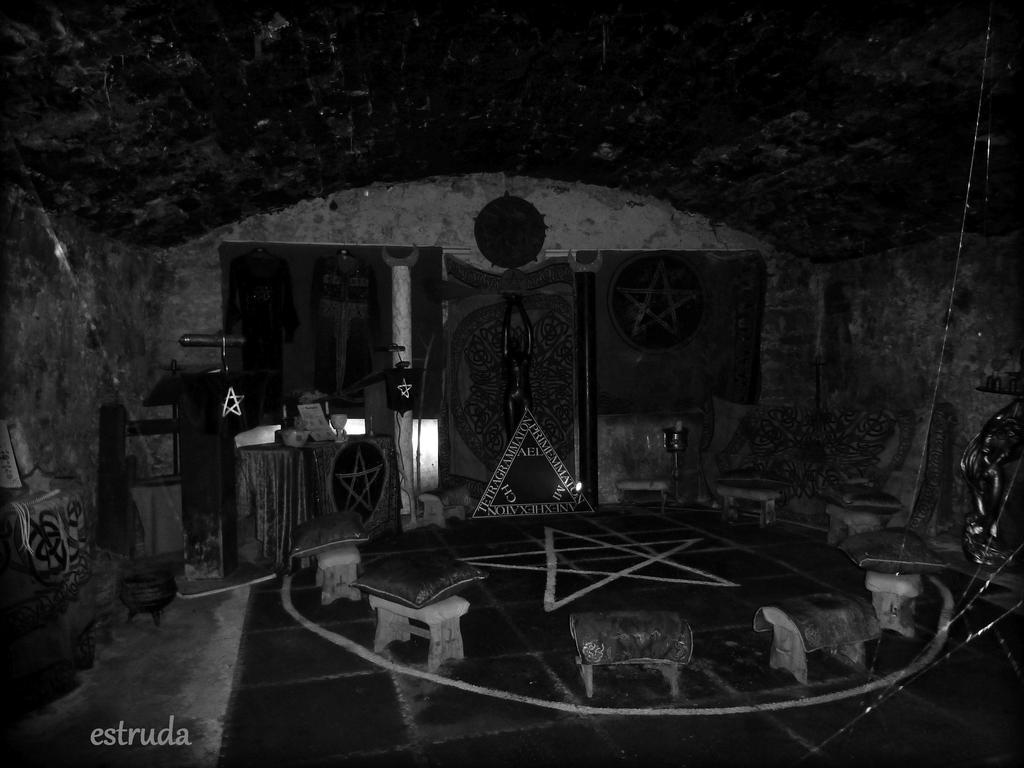 Secret Underground witches Coven by Estruda