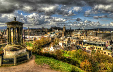 Edinburgh Landscape by Estruda