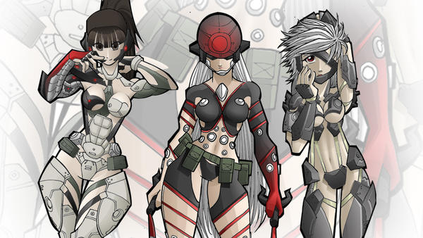 Metal gear rising genderbend wallpaper by fajar rizky on deviantart metal gear rising genderbend wallpaper by fajar rizky voltagebd Image collections