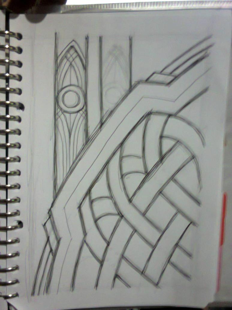 Slutty Deathstroke bg sketch by fajar-rizky