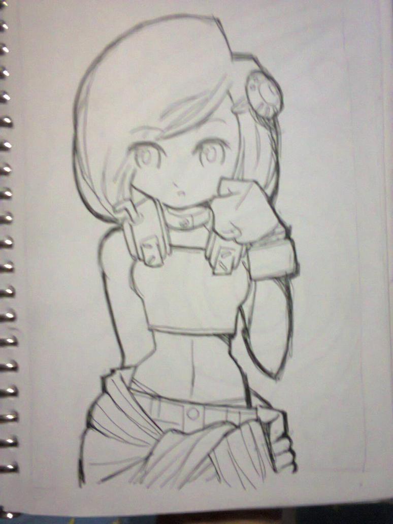 Sunny sketch by fajar-rizky