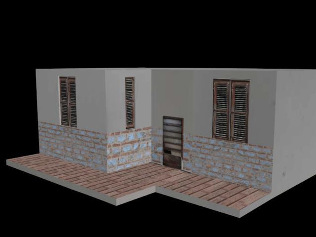 3d housee by Gluka-Kon