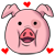Free Waddles the Pig Icon by rainbowpanda101