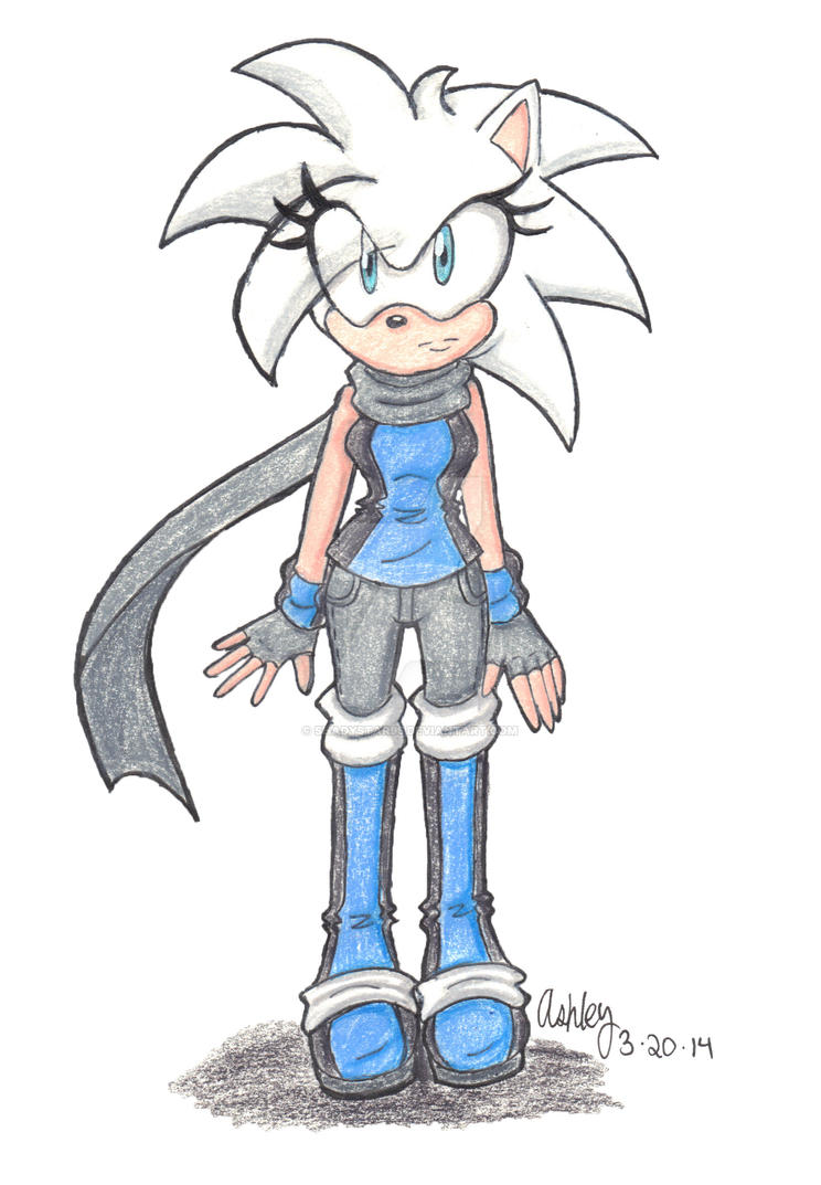 .:Ice the Hedgehog:. NEW DESIGN by Shadystar95