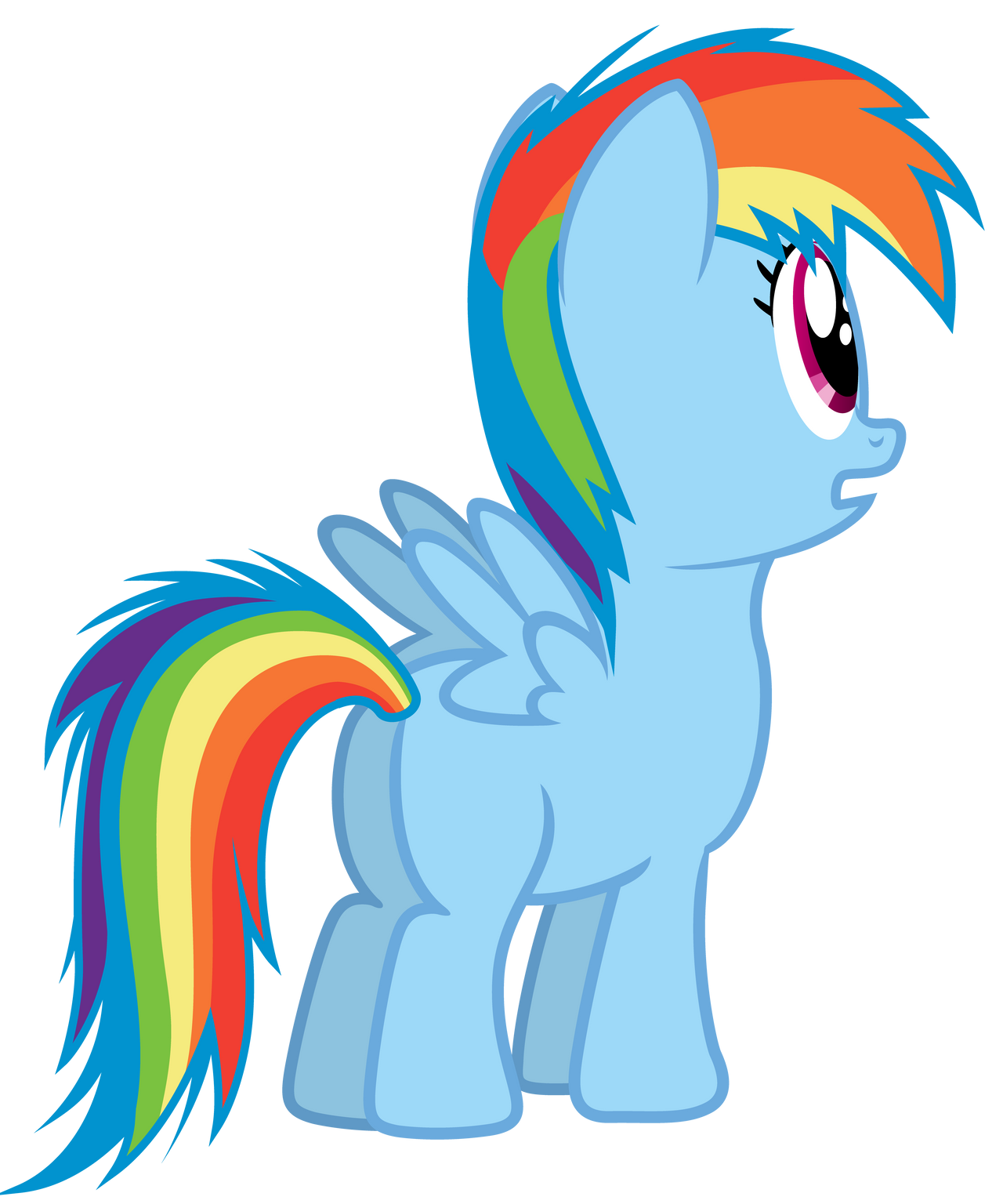 Filly Dash, what are you looking at... by popmannn on ...