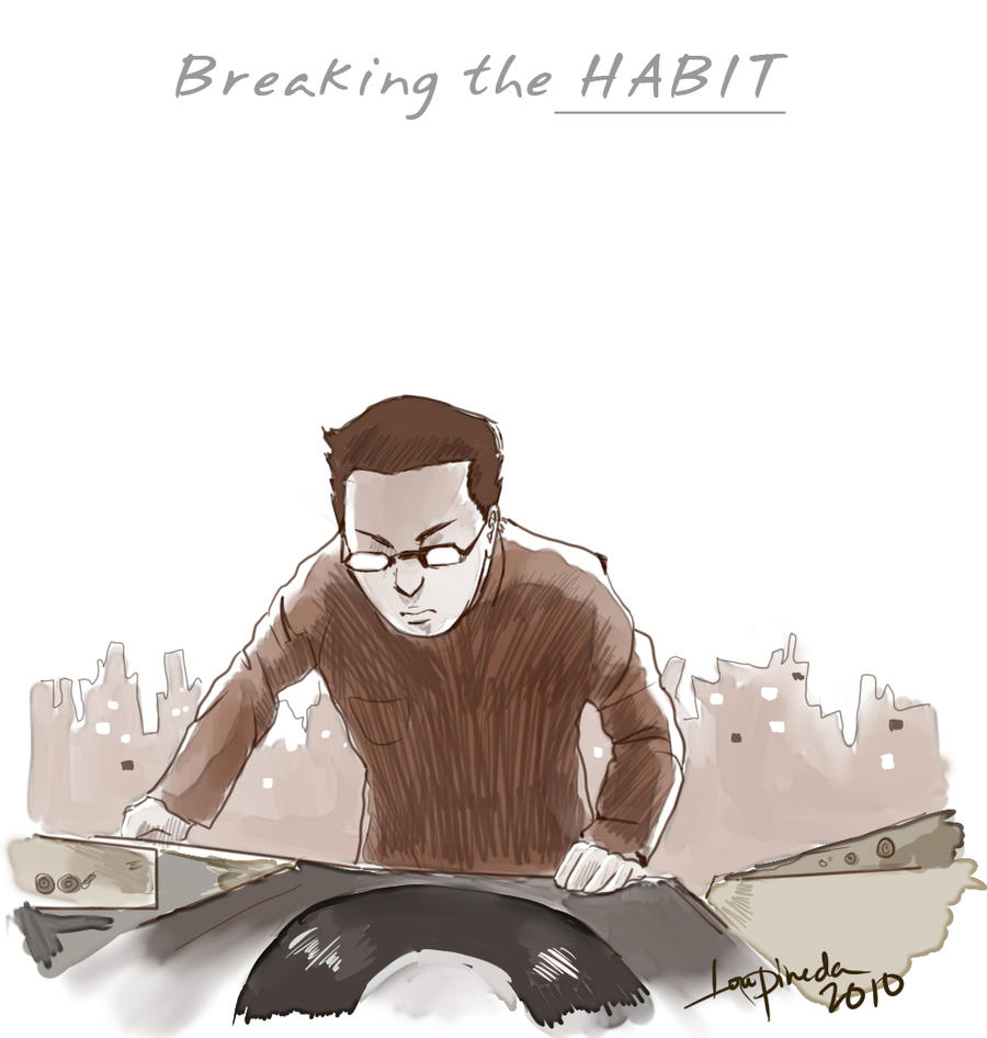 Breaking The Habit By Aloisius On DeviantART