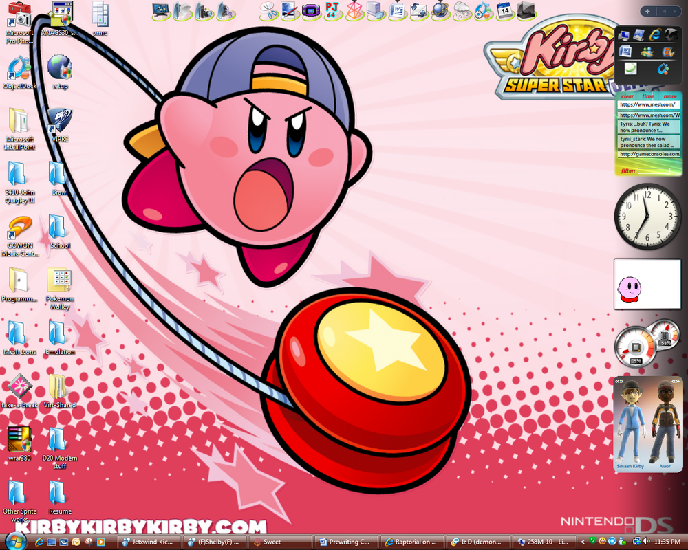 My Vista Desktop by kirby144