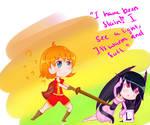 Over Acting Dragon- Drawn by Art-of-MomokaB