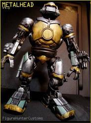 Metalhead Custom TMNT Action Figure by FigureHunterCustoms