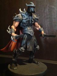 Shredder Custom Figure/Statue (For Sale) by FigureHunterCustoms