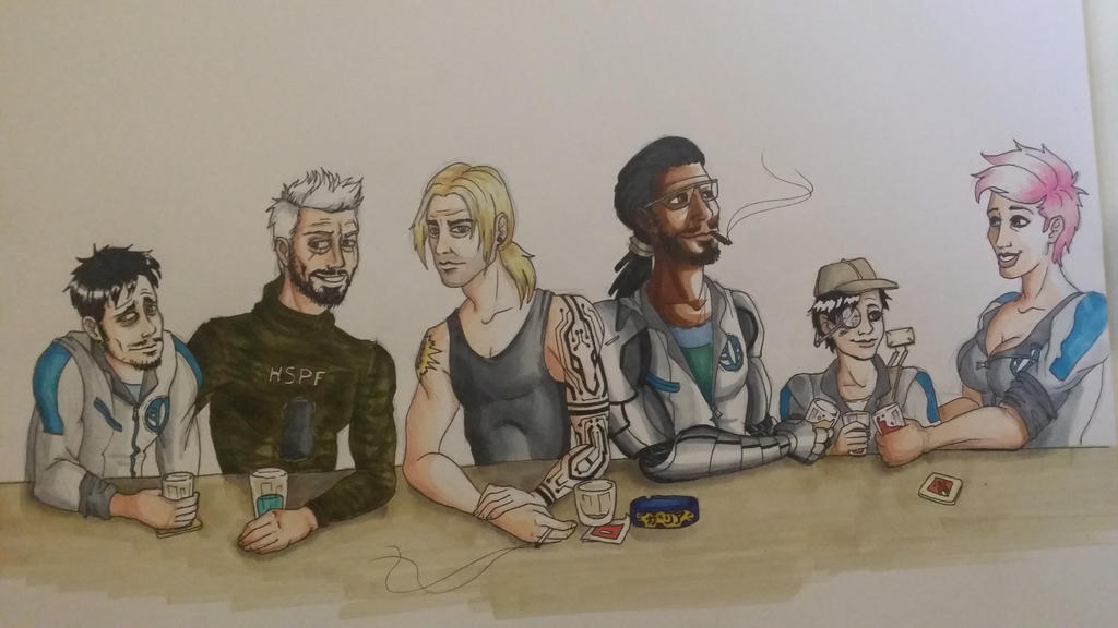 Recent Zero-G Pen and Paper Team by Mar-Lisa