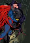 Superman with Batman