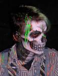 Toxic Zombie Close Up