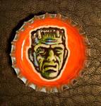 Bottle Cap Monster - Frankie