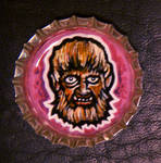 Bottlecap Monster - Wolfie