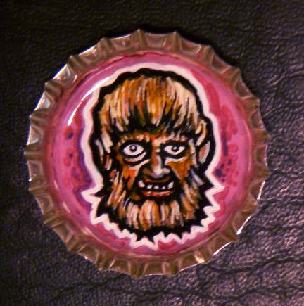 Bottlecap Monster - Wolfie