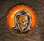Bottle Cap Monster- Skull