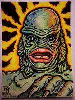 Creature Sketch Card